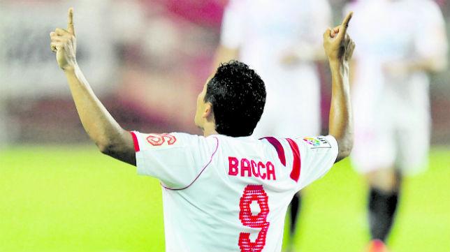 Carlos Bacca es el referente del Sevilla