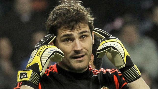 Iker Casillas, portero del Real Madrid.