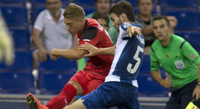 El Sevilla consiguió ante el Español su primera victoria de la temporada