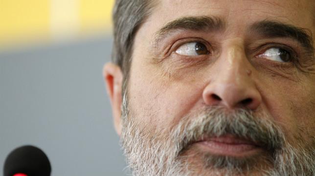 El presidente del Córdoba, Carlos González
