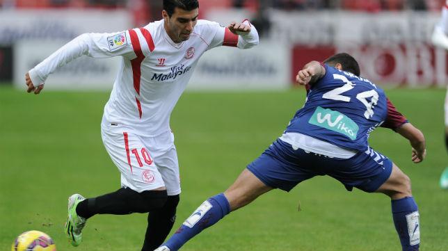 Reyes, en el Sevilla-Eibar (AFP)