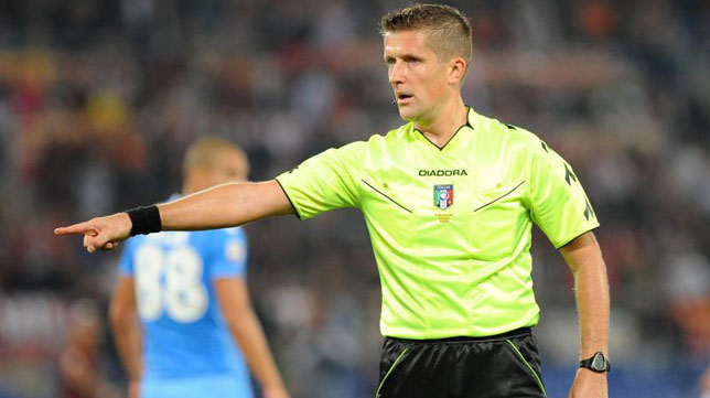 Daniele Orsato, árbitro italiano