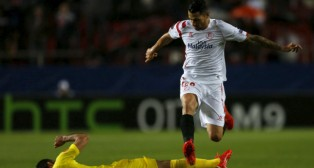 Vitolo, en el Sevilla-Villarreal (Foto: Reuters)