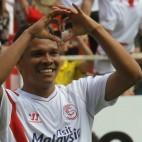 Bacca celebra un gol ante el Athletic