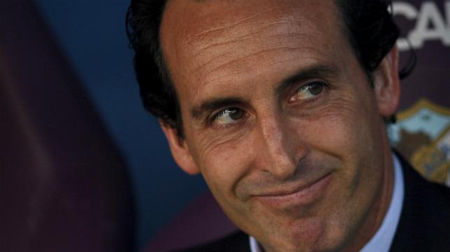 El técnico del Sevilla FC, Unai Emery