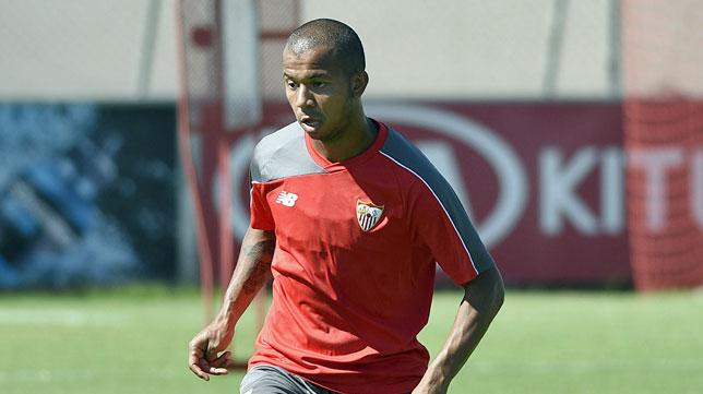 Mariano Ferreira, en un entrenamiento (foto: Jesús Spinola)