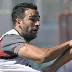 Rami, en un entrenamiento (foto: Jesús Spinola)