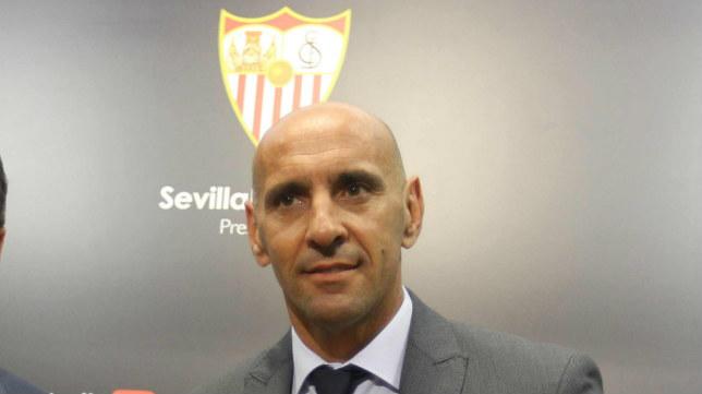 Monchi, en un acto del Sevilla (Foto: Raúl Doblado)