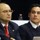 José Castro y Del Nido Carrasco escenificaron un desacuerdo en la Junta de 2014