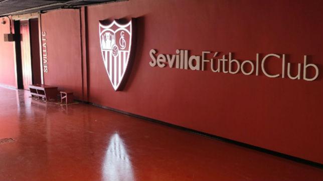 Imagen de uno de los pasillos interiores del estadio Ramón Sánchez-Pizjuán (Foto: sevillafc.es)