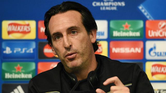 Emery, en la rueda de prensa previa al Manchester City-Sevilla FC