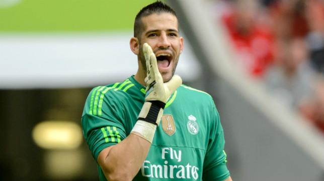Kiko Casilla, portero del Real Madrid