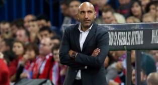 El técnico del Sporting, Abelardo