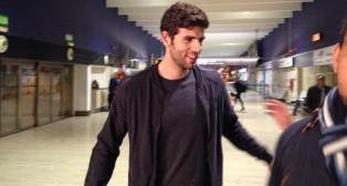 Fazio, a su llegada hoy a San Pablo