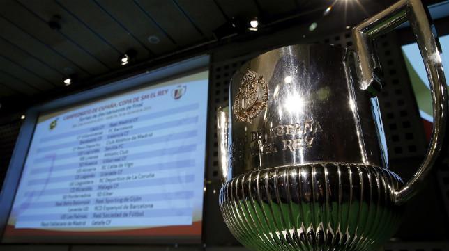 Imagen de un sorteo de la Copa del Rey en el que participa el Sevilla