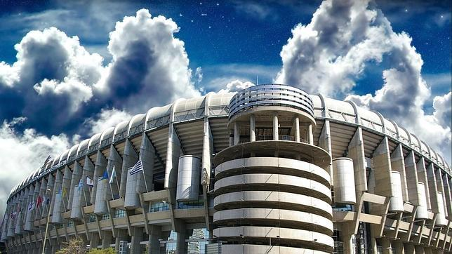 Estadio Santiago Bernabéu, Madrid.