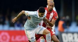 Nzonzi, en el Celta-Sevilla (Foto: AFP)