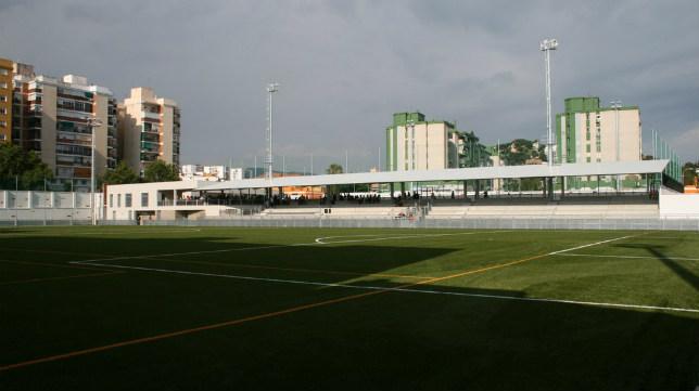 Estadio del CD El Palo