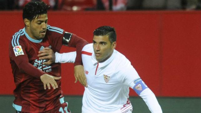 Reyes, durante el Sevilla FC-Real Sociedad