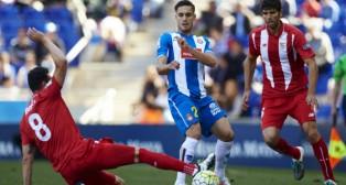Lance del Espanyol-Sevilla FC