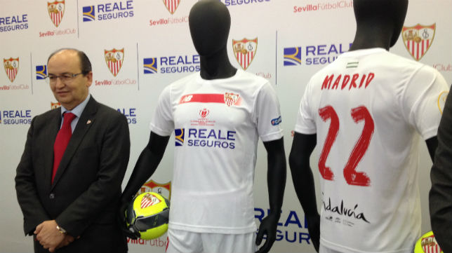Camiseta Sevilla FC Carriço