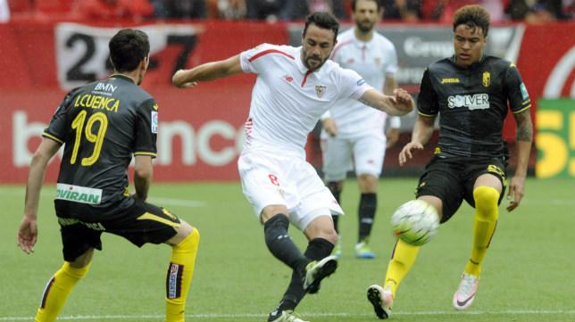 Iborra, en el Sevilla FC-Granada