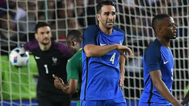 Rami, durante el partido jugado con Francia ante Camerún