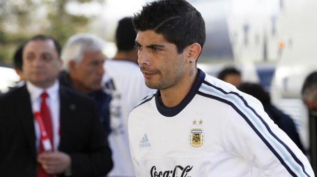 Banega, concentrado con la selección argentina