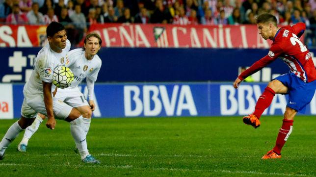 Vietto, en el choque contra el Real Madrid