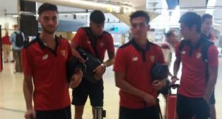 El Sevilla, rumbo a Alemania