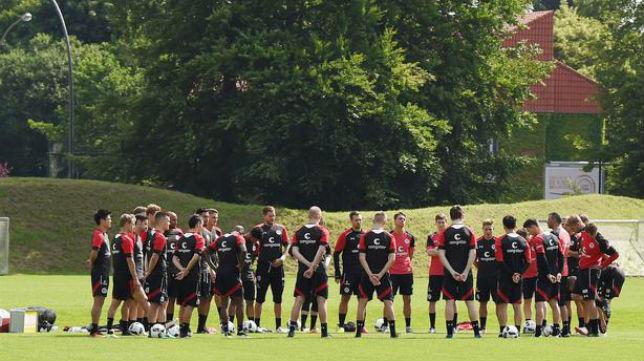 El St. Pauli, en un entrenamiento (Foto: fcstpauli.com)