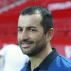 Diego Martínez, técnico del Sevilla Atlético (foto: Raúl Doblado)