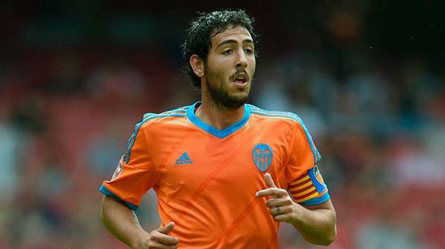 Dani Parejo, en un partido con el Valencia CF