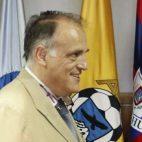 El presidente de la LFP, Javier Tebas (foto: EFE/Fernando Alvarado)