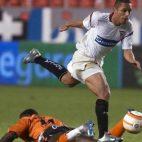 Adriano, en el Sevilla-Alavés de octubre de 2005