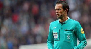 El árbitro holandés, Bas Nijhuis