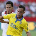 Ganso, en el partido Sevilla-Las Palmas
