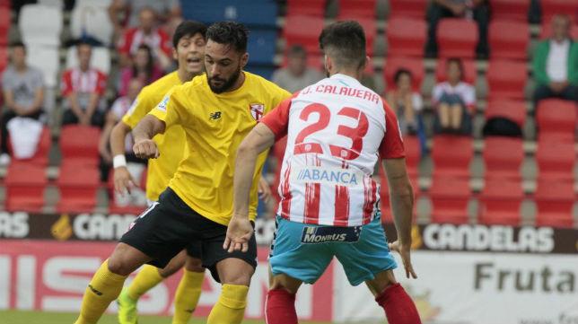 Lugo- Sevilla Atlético. Foto: @LaLiga