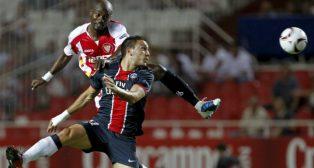 Lance del Sevilla-PSG de 2010