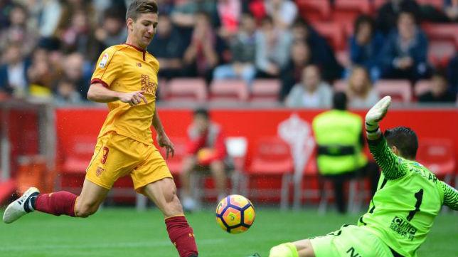 Vietto adelantó al Sevilla en el minuto cuatro