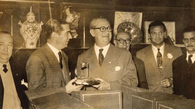 """Imagen de archivo de Ramón Sánchez-Pizjuán, """"eterno presidente"""" del Sevilla FC (Foto: SFC)"""