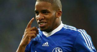 Jefferson Farfán, con el Schalke