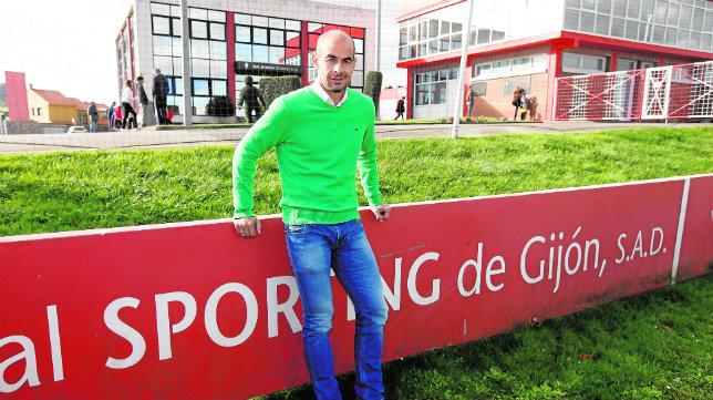 Mario Cotelo, en las instalaciones de Mareo (Foto: Jorge Peteiro)