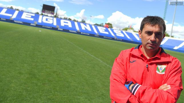 El técnico del Leganés, Asier Garitano