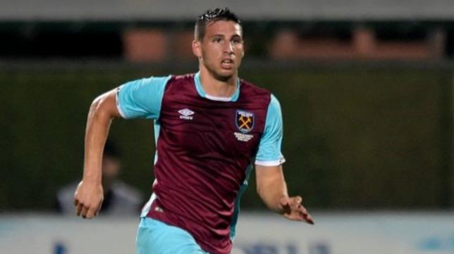 Jonathan Calleri, jugador del West Ham