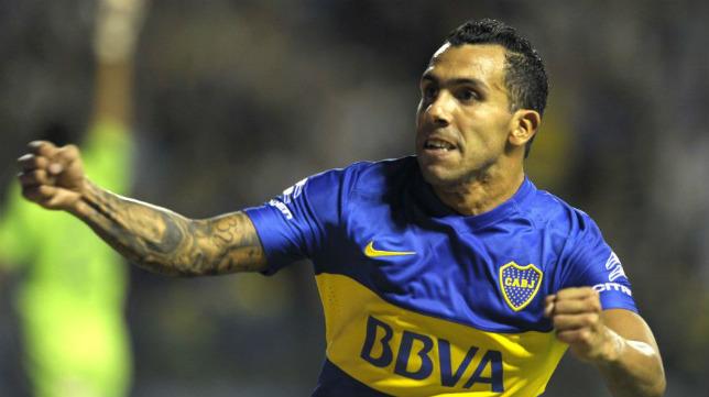 Carlos Tévez, la estrella de Boca Juniors