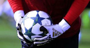 Imagen de un entrenamiento del Sevilla FC previo a un duelo de Champions (AFP)
