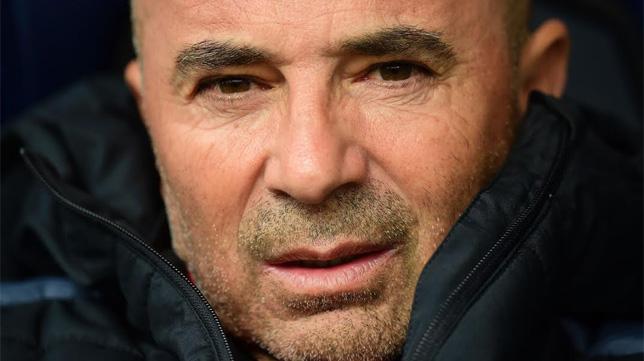 Jorge Sampaoli, en el Deportivo-Sevilla (Foto: EFE)