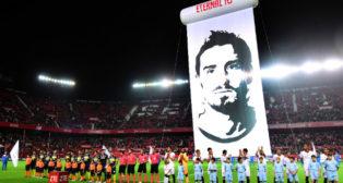 Boca y Sevilla FC, en la celebración del VIII Trofeo Antonio Puerta (Foto: Juan José Úbeda)