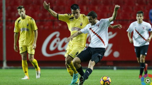 Sevilla Atlético- Reus. Foto: LaLiga